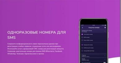 Обзор услуги одноразовых номеров телефона для смс от компании freeje.com