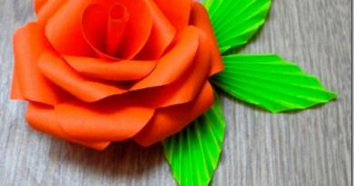 Как сделать макет цветка из подручных материалов