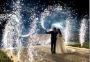 Виды фейерверков на свадьбу, советы по выбору и безопасному запуску