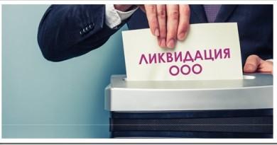 Ликвидация ООО с нулевым балансом: особенности