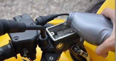 Как делается прокачка тормозов на квадроцикле