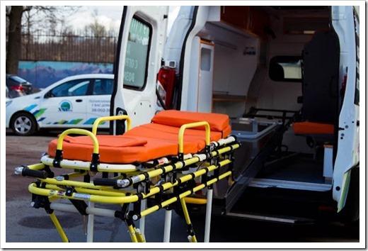 Различные типы перевозки лежачих больных
