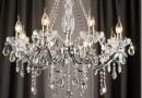 Как выбрать хрустальную люстру в зал и как ее чистить