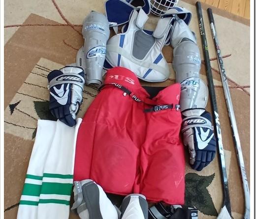 Как экипируется хоккейный игрок?