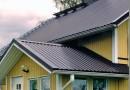Как выбрать профнастил на крышу дома