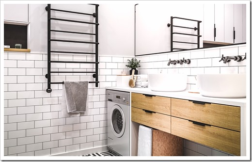 Материалы изготовления мебели для ванной комнат