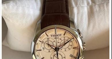 Как выбрать мужские наручные часы Tissot?