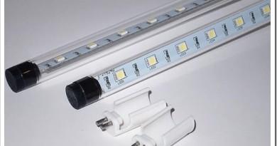 Особенности конструктива светодиодных ламп G13 Т8