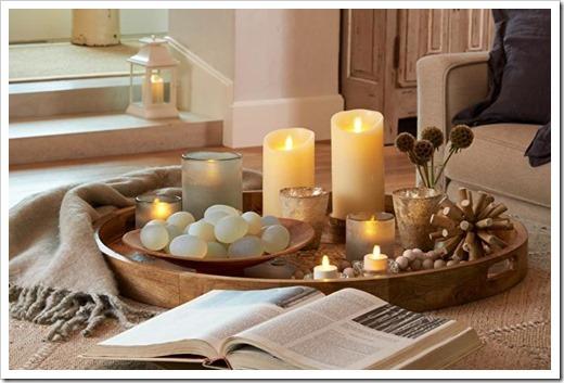 Виды декоративных свечей для интерьера