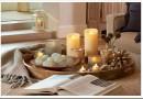 Декоративные интерьерные свечи — виды и применение