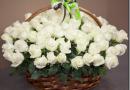 Как красиво оформить цветочную корзину