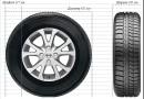 Как подобрать шину к диску по размеру?